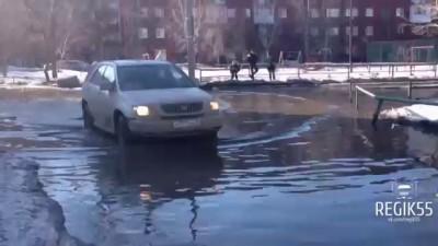 На лодке по дорогам Омска