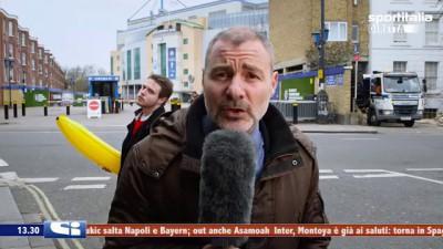 Репортёр и банан