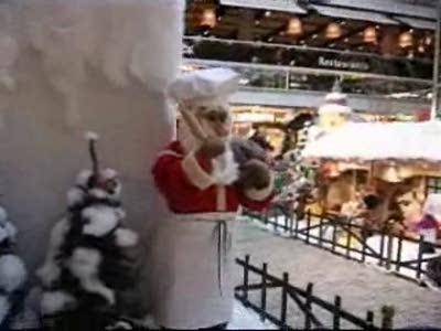 """Торговый центр """"Европа"""", Берлин, перед Рождеством"""
