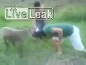 коза против человека