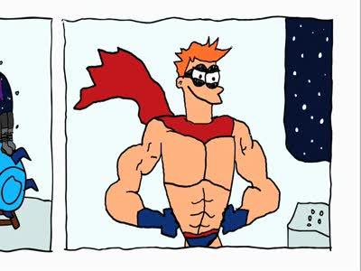 Комикс Фрая 2