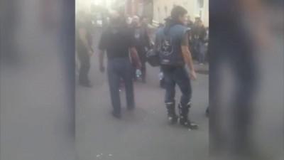 В Москве 300 байкеров вступились за избитого кавказцами товарища