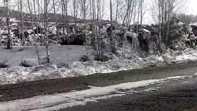 оползень в Пензенской области
