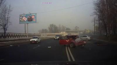 ДТП 10.12.15 г. в Днепропетровске, ул. Космическая