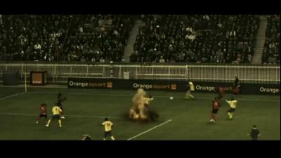 Взрыв во время футбольного матча