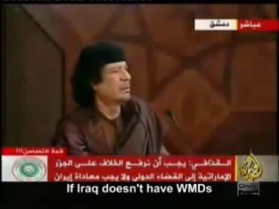 Gaddafi's speech.Summit AL 2008 Речь Каддафи на саммите ЛАГ