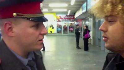 Беспредел на Курском вокзале