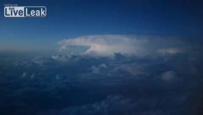 Thunderstorm Viewed From A Plane