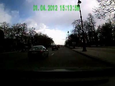 ДТП на зеленом светофоре