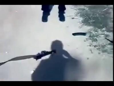 Разорвало АК-47