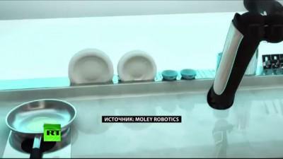 Высокие технологии в быту: кухонный робот будет готовить по рецептам лучших кулинаров планеты