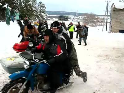 """Зимний мото-сходняк """"Пермская Муть - 3"""""""