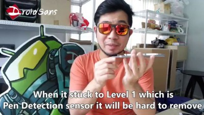 How to remove S Pen from Galaxy Note 5 : วิธีดึง S Pen ที่ค้างใน Note 5