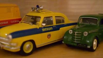 Автомобиль на службе (моя коллекция)