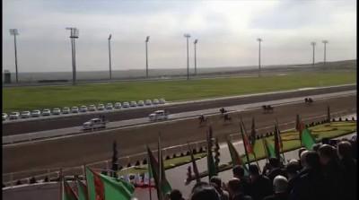 Президент Туркменистана упал с лошади
