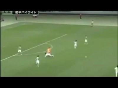 Carton rouge en 5 secondes! League Japonaise football