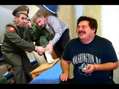 Сергей Шойгу и портянки