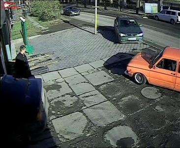 """Запорожец VS Opel """"двойное"""" ДТП"""