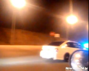Ночной кошмар в центре Владивостока: стритрейсеры устроили нелегальные гонки