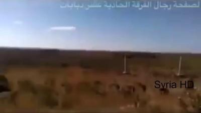 شاهد اقوى مقاطع الفيديو للطيران الروسي اثناء تغطيته لرجال الفرقة ١١/د سنيسل/ ريف حمص Mi-24