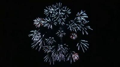 фестиваль фейерверков в Японии