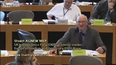 Foreign ministers are heading for redundancy Stuart Agnew MEP Lithuanians reply is priceless!