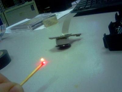 Лазер из DVD-ROM