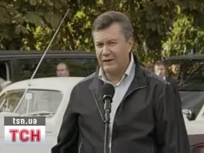 Новый ляп Януковича