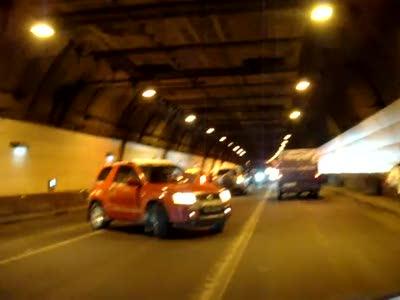 Пожарная тревога в тоннеле