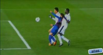 David Villa Injury vs Al Sadd