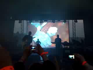 Live выступление Infected Mushroom на пространство 2009
