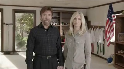 "Chuck Norris WARNING America ""1000 years of Darkness"" if Obama Wins"