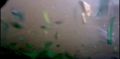 Взрыв газа снятый видеорегистратором