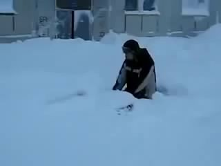 Суровая русская зима!!!!