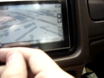 Крепление GPS-навигатора