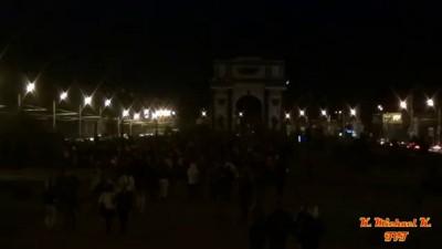Курск. Запуск небесных фонариков 24.09.12 [1080p]