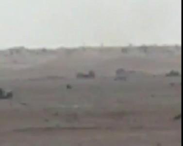 """Работа """"Шторы"""" на Т90 в Сирии"""