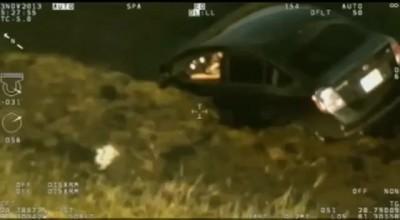 Спасли женщину из тонувщего автомобиля