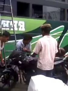 Загрузил мотоцикл как Босс.