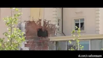 Жители Донецка! по частным секторам стреляют свои ДНРовцы для картинки российского телевидения