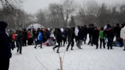 Снежная битва 2013