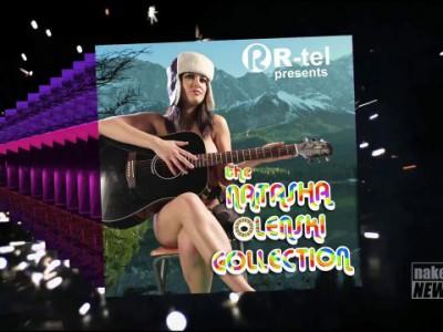 Natasha Olenski presents her new album released in Russia