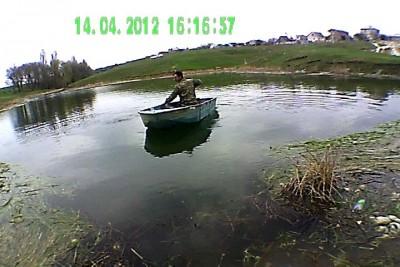 тример в качестве мотора для лодки