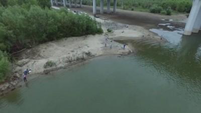 Новосибирец снял Бугринский мост с 300-метровой высоты