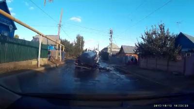 Дорога в Саратове
