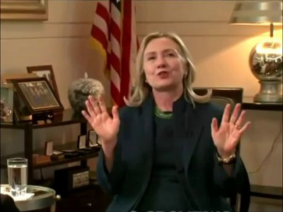 "Hillary Clinton ""We Came, We Saw, He Died"" (Gaddafi)"