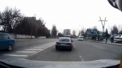 Разборка со стрельбой в Запорожье Road rage with Gun Fire Ukraine