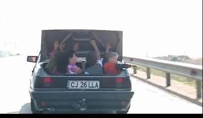 Дети в багажнике