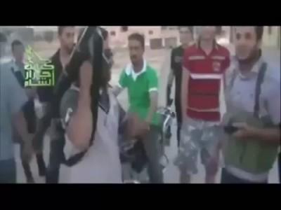 Сирия. Террорюга из Алькаиды.