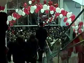 "Открытие Гипермаркета ""Комета"""